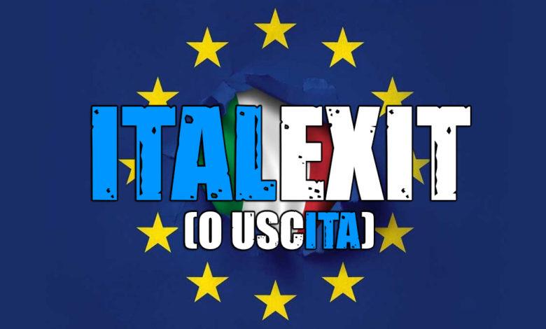ITALEXIT USCITA EUROPA ITALIA