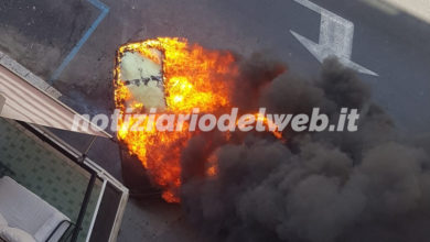 Photo of ROMA: Auto a fuoco in Via Catalani