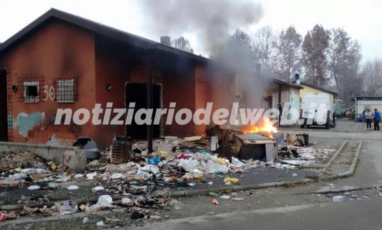 torino campo rom piazza armi germagnano