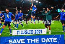 Italia Inghilterra in maxischermo a Torino dove seguire la finale Euro 2020