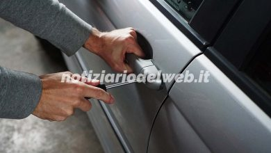 Furti auto a Torino: la classifica delle vetture più rubate