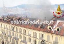 Torino, incendio di piazza Carlo Felice: cos'è successo
